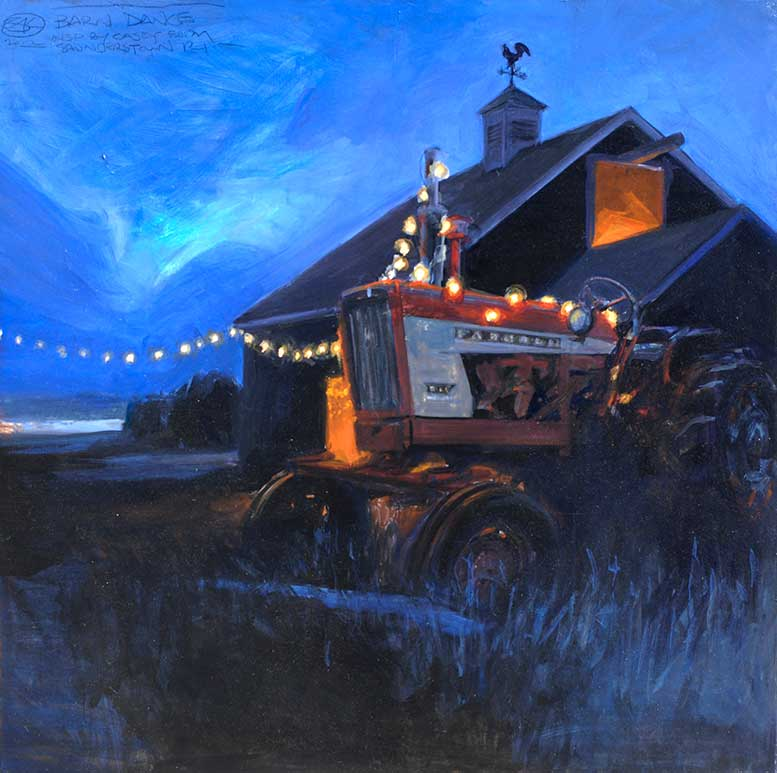 Shawn-Kenney-Barn-Dance-30x30