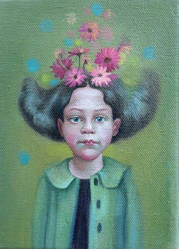 JenniferKnaus-Daisy-Head-II